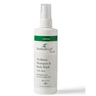 Medline Soothe & Cool No Rinse Shampoo & Body Wash 8oz spray