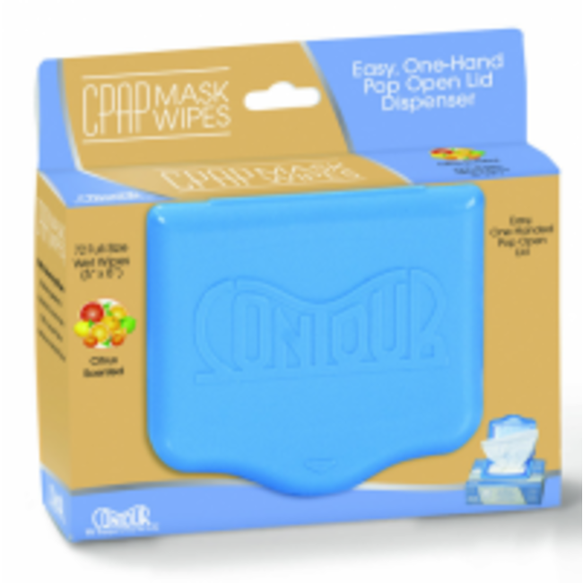 Contour Products CPAP Mask Wipes - 72 per container