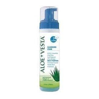 Convatec Aloe Vesta No-Rinse Body Wash Foaming 8 oz. Pump Bottle Clean Scent