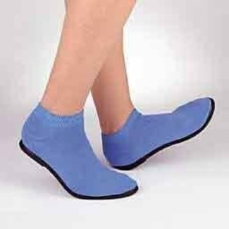 PBE Pillow Paws Ankle High Slippers with Rubber Soles