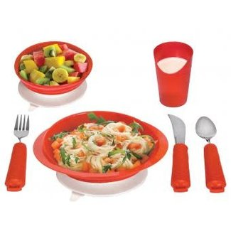Essential Medical Power of Red Dinner Ware