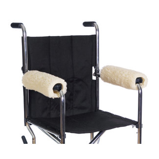 Essential Medical Essential Sheepette Wheelchair Armrest Pads