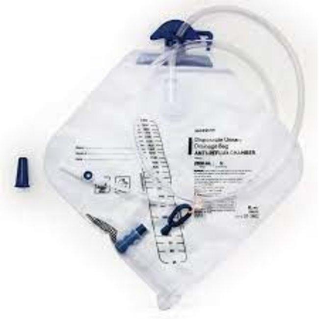 McKesson McKesson Urinary Catheter Bag with Anti-Reflux Valve