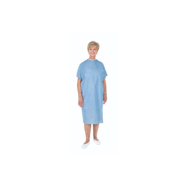Essential Medical Standard Patient Gowns - Solid & Prints