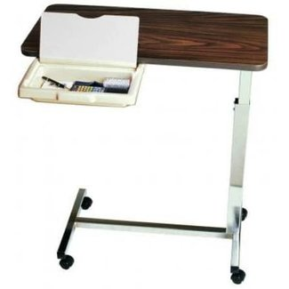 Amfab Amfab Overbed Table with pull out drawer and vanity mirror