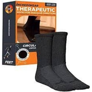 Incrediwear Incrediwear Circulation Socks Crew XL Black