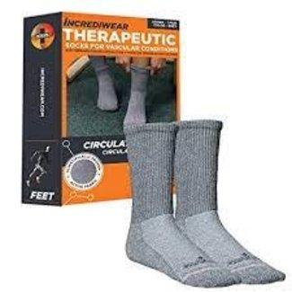 Incrediwear Incrediwear Circulation Socks Crew XL Grey