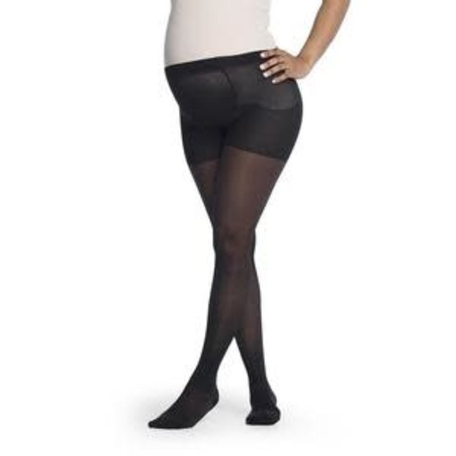 Sigvaris Sheer Fashion (Women Only) 15-20 Maternity Pantyhose A Closed Black