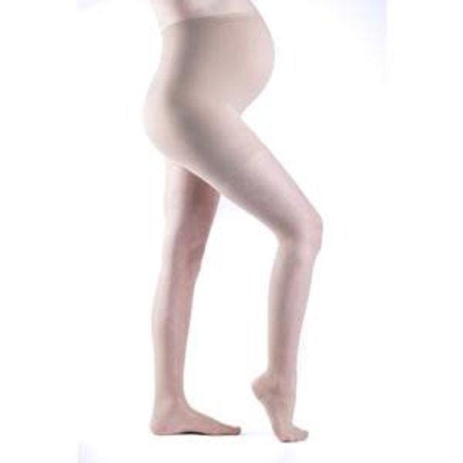 Sigvaris Sheer Fashion (Women Only) 15-20 Maternity Pantyhose B Closed Natural