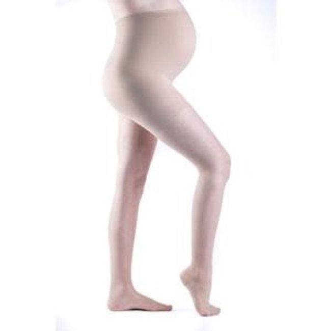 Sigvaris Sheer Fashion (Women Only) 15-20 Maternity Pantyhose Natural C
