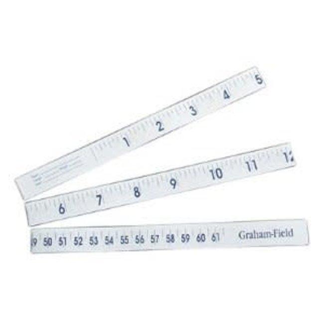 Graham Field Grafco Measuring 36 inch paper measuring tape, box of 100