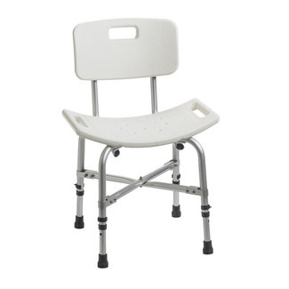 Drive Medical Drive Heavy Duty Bath Chair with Back