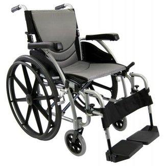 "Karman Karman S-Ergo Ergonomic lightweight wheelchair 20"" Pearl Silver Mag Wheel"