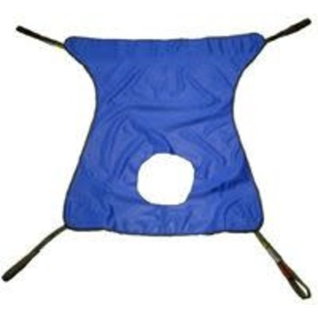 Tele-Made Tele-Made Mesh Patient Lift Sling with Commode Cut-out