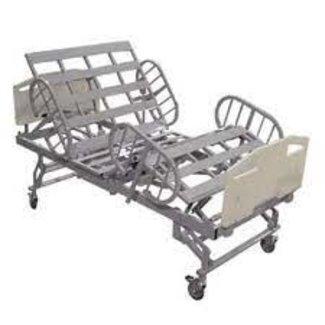 Tele-Made Titan Heavy Duty Wide Hospital Beds with Rails