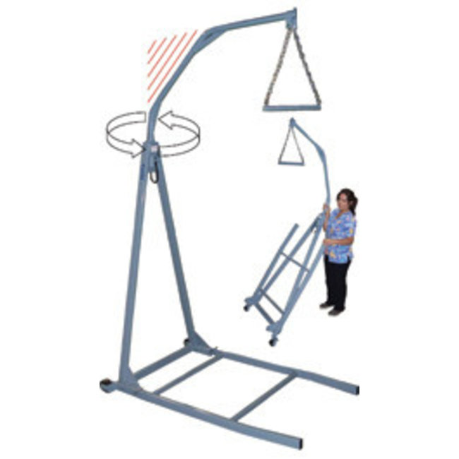 Tele-Made Tele-Made 650lb capacity Bariatric Trapeze - Free Standing