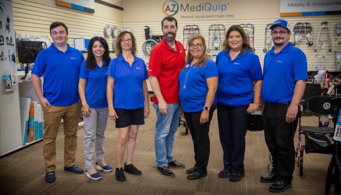 AZ MediQuip Medical Supply Store Join Our Team | Careers