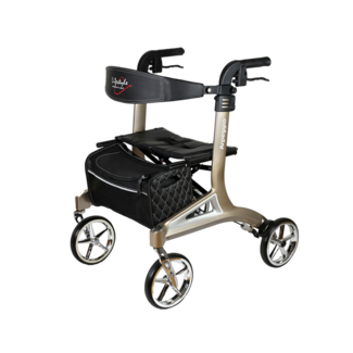 LifeStyle Mobility Aids Arpeggio Rollator - Euro Style, Light Weight!