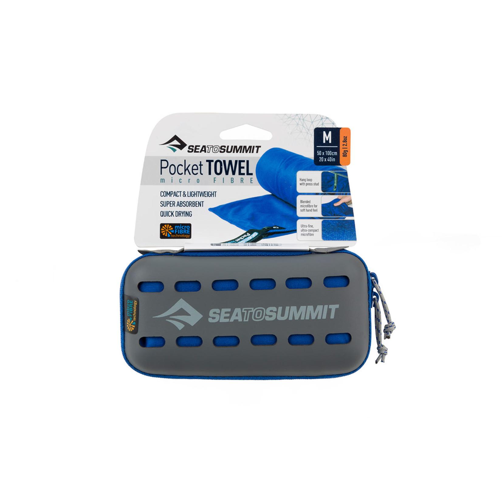 Sea to Summit Sea to Summit, Pocket Towel Medium Cobalt Blue