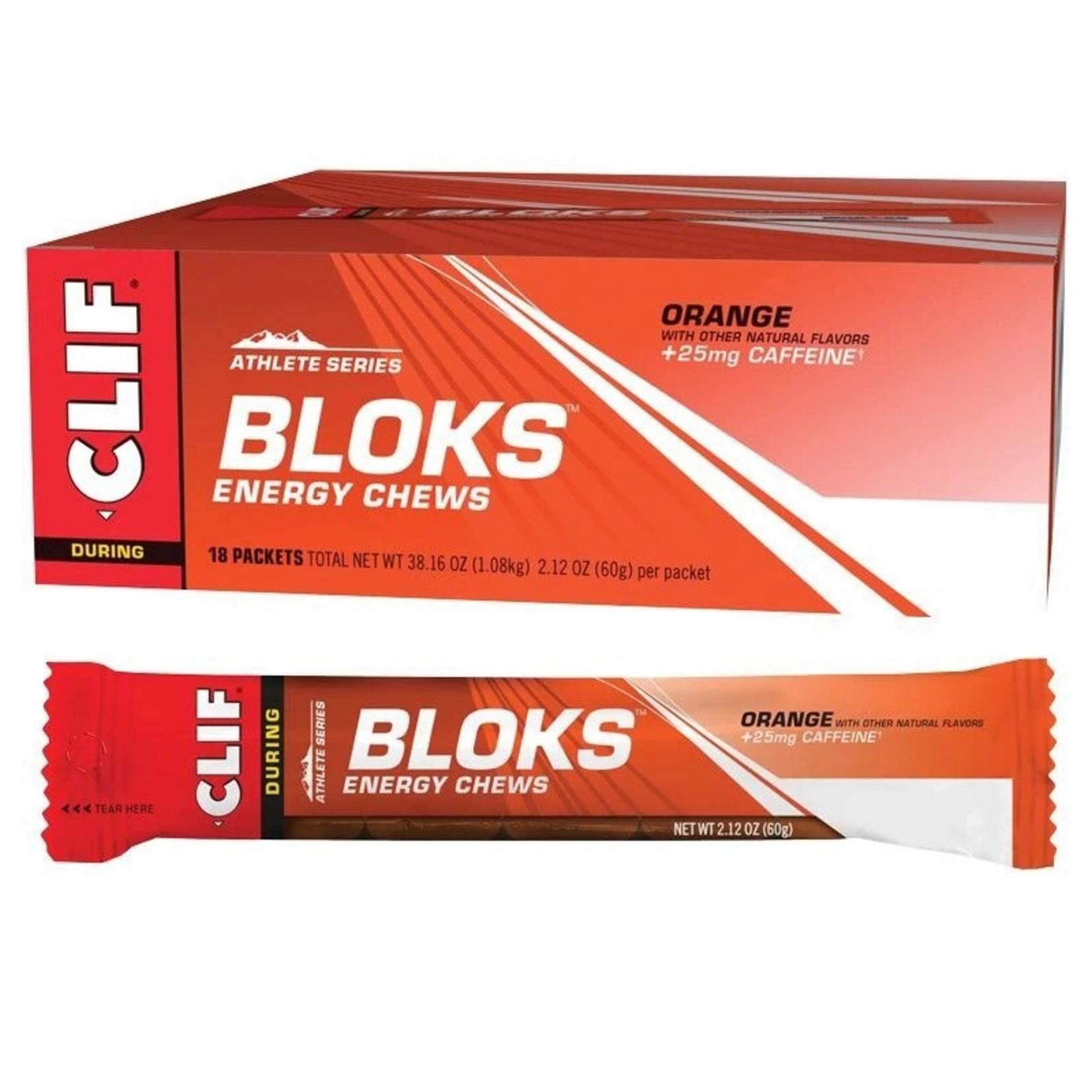 Clif Clif, Bloks Energy Chews Orange