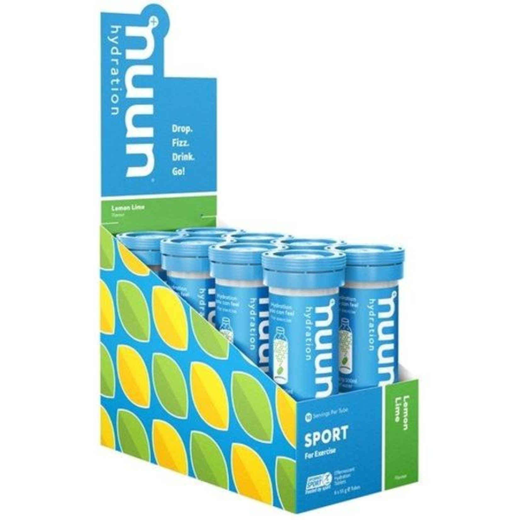 Nuun Hydration Nuun Hydration, Sport Tube Lemon Lime