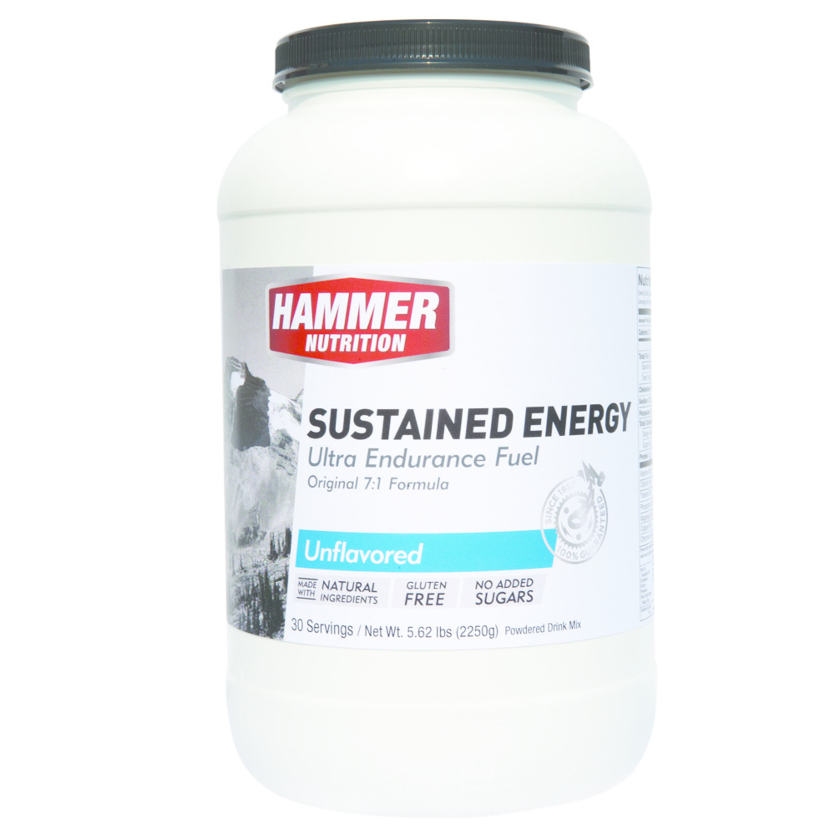 Hammer Nutrition Hammer Nutrition, Sustained Energy Unflavoured (21 Serves, 1.8kg)