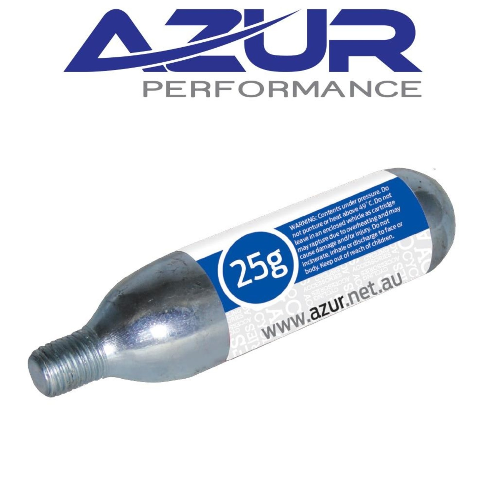 Azur Azur, Co2 Cartridge Threaded 25g