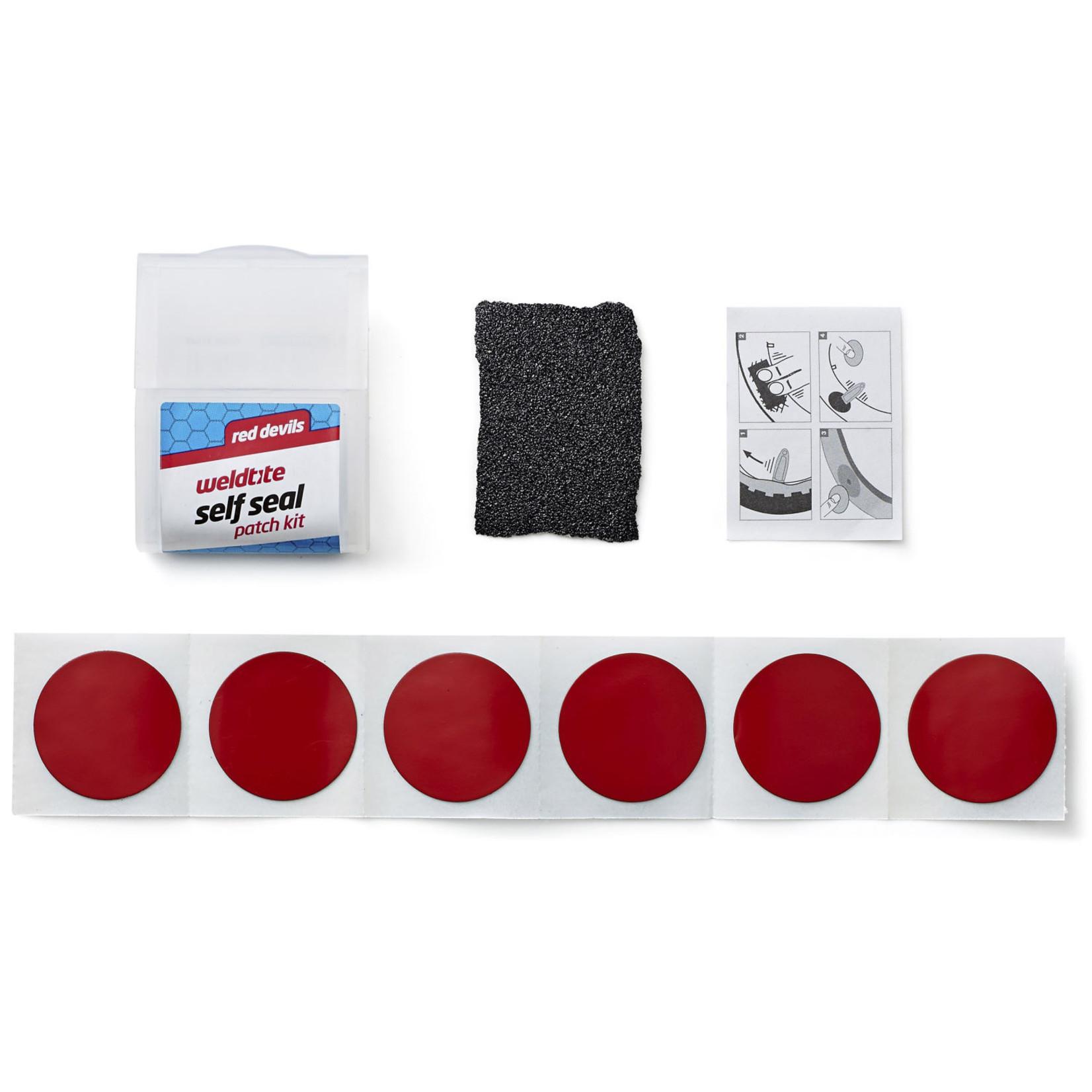 Weldtite Weldtite, Red Devils Self Seal Patch Kit