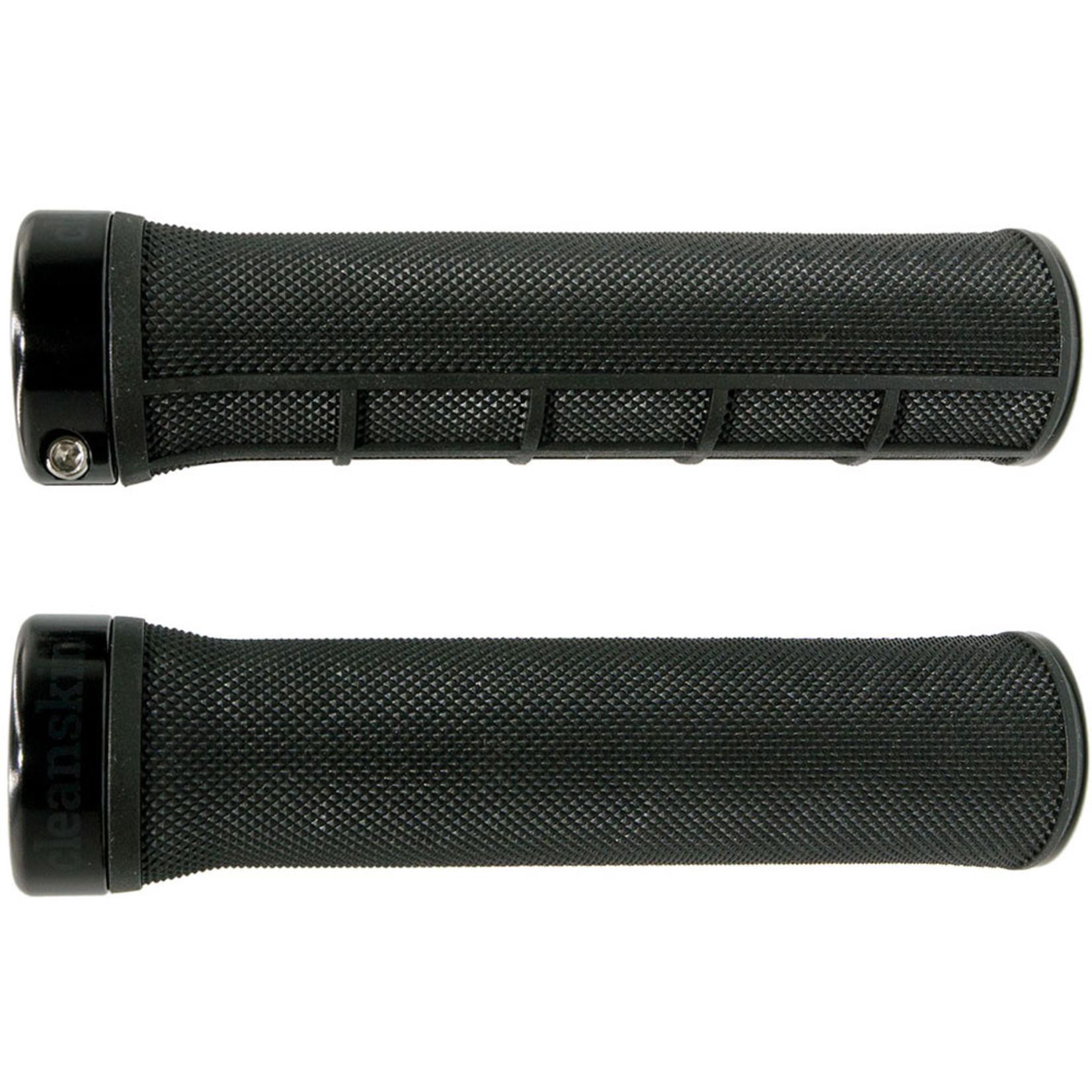 Cleanskin Cleanskin, Flow Single Clamp Lock-On Grips Black