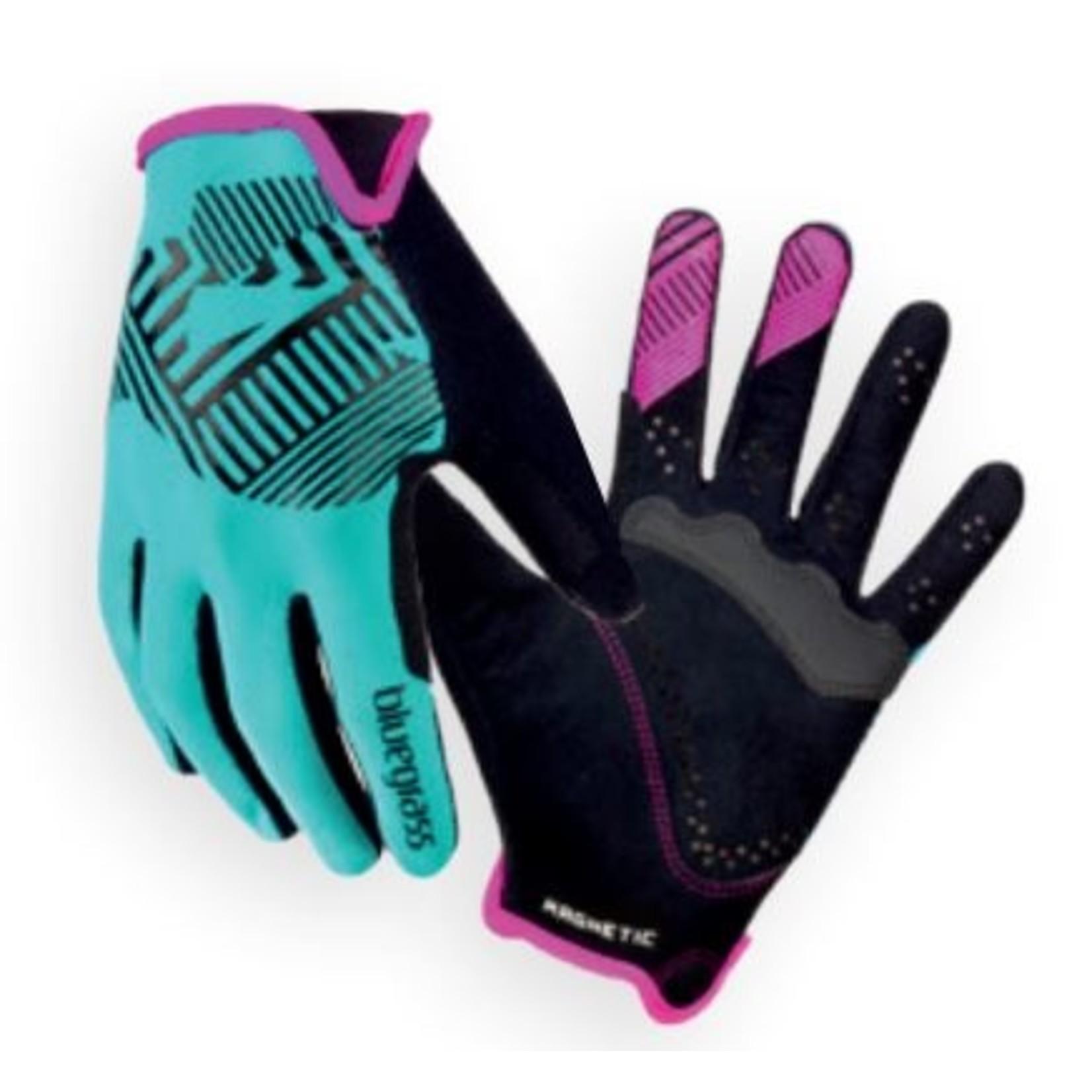 Bluegrass Bluegrass, Glove Magnete Rock Blue/Pink