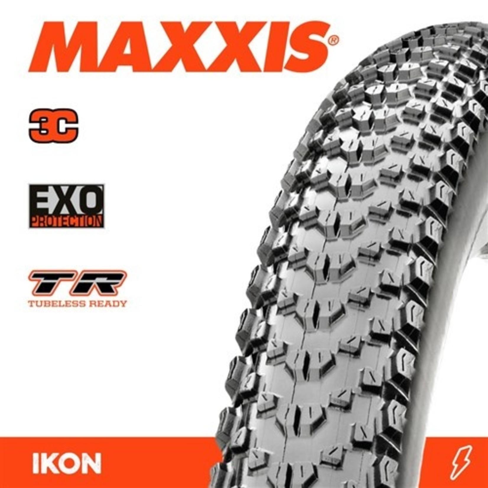 Maxxis Maxxis, Tyre Ikon 29x2.20 3C Speed EXO TR 120TPI Black