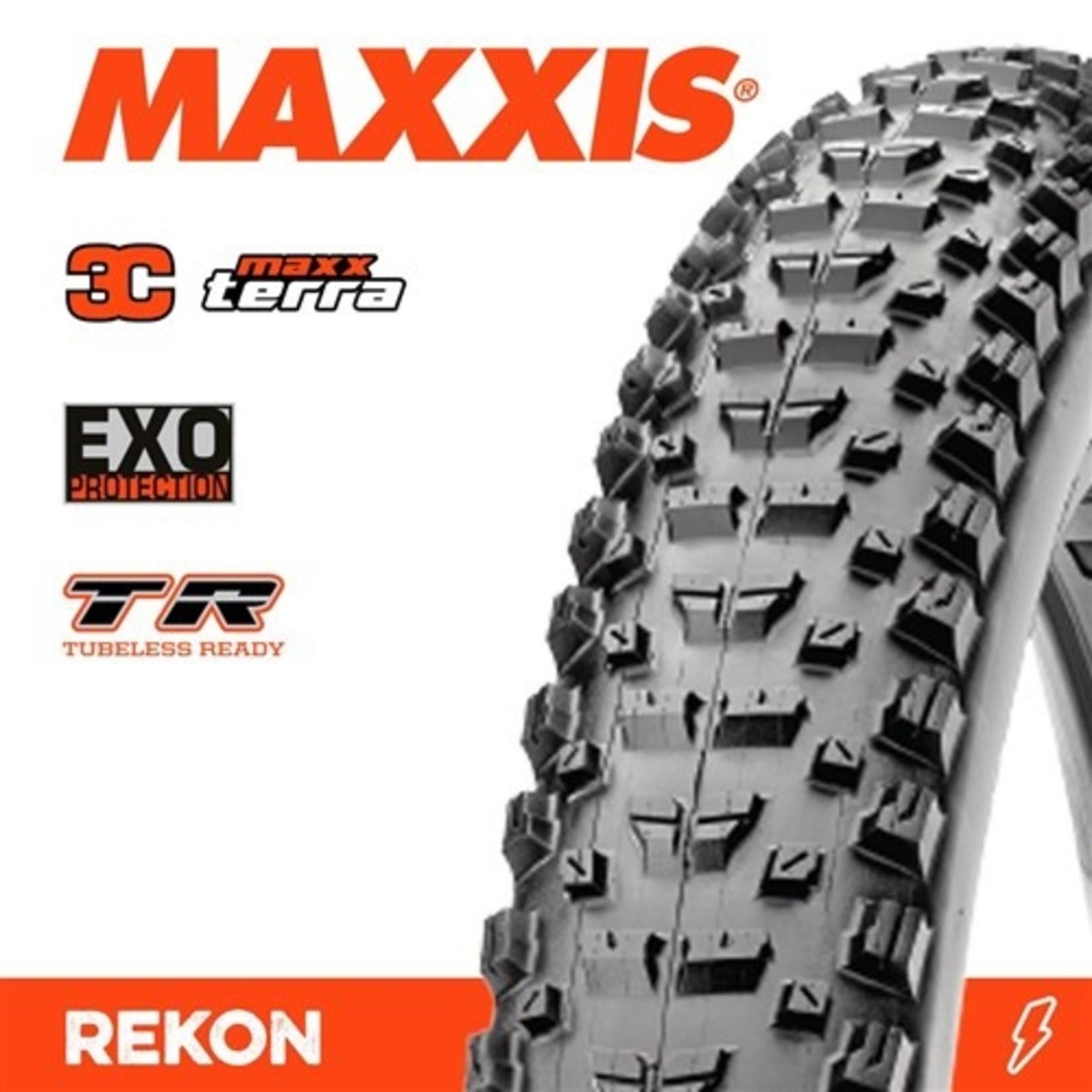 Maxxis Maxxis, Tyre Rekon 29x2.40WT 3C Terra EXO TR 60TPI Black