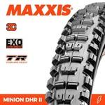 Maxxis Maxxis, Tyre Minion DHR II 29x2.30 3C Terra EXO TR 60TPI Black