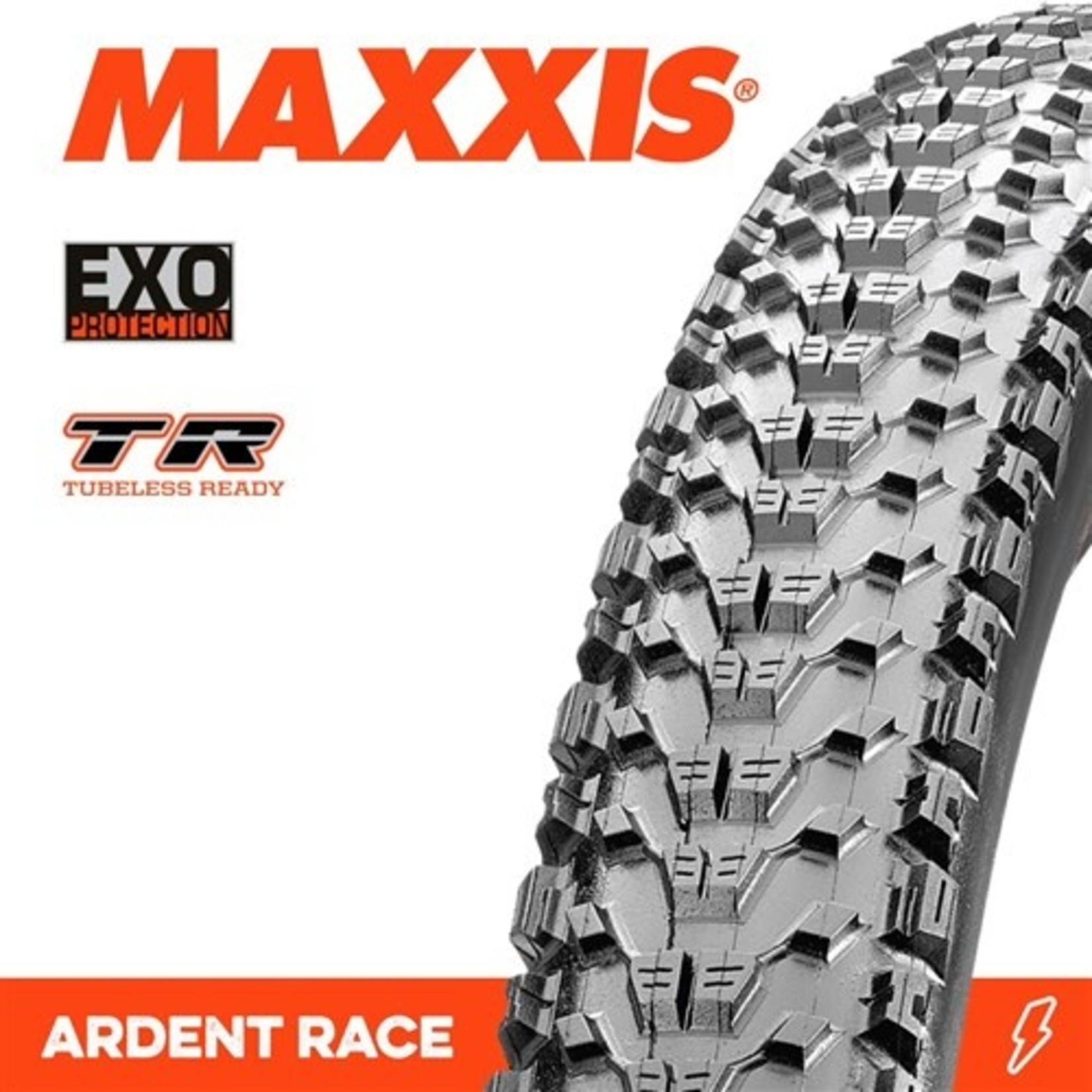 Maxxis Maxxis, Tyre Ardent Race 27.5x2.20 EXO TR 60TPI Black
