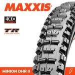 Maxxis Maxxis, Tyre Minion DHR II 26x2.40WT EXO TR 60TPI Black