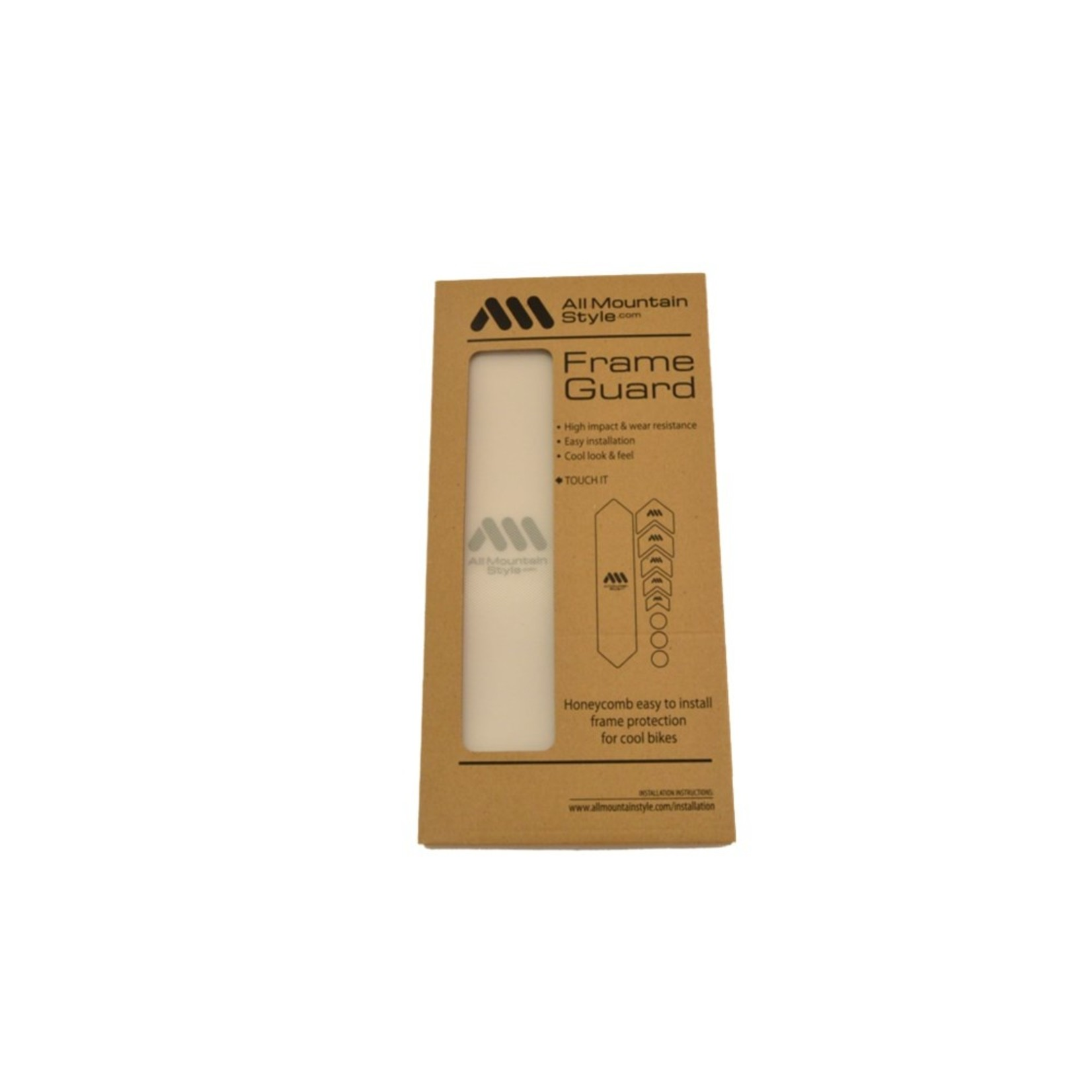 All Mountain Style (AMS) All Mountain Style, AMS Basic Frame Protection Wrap Clear/Silver