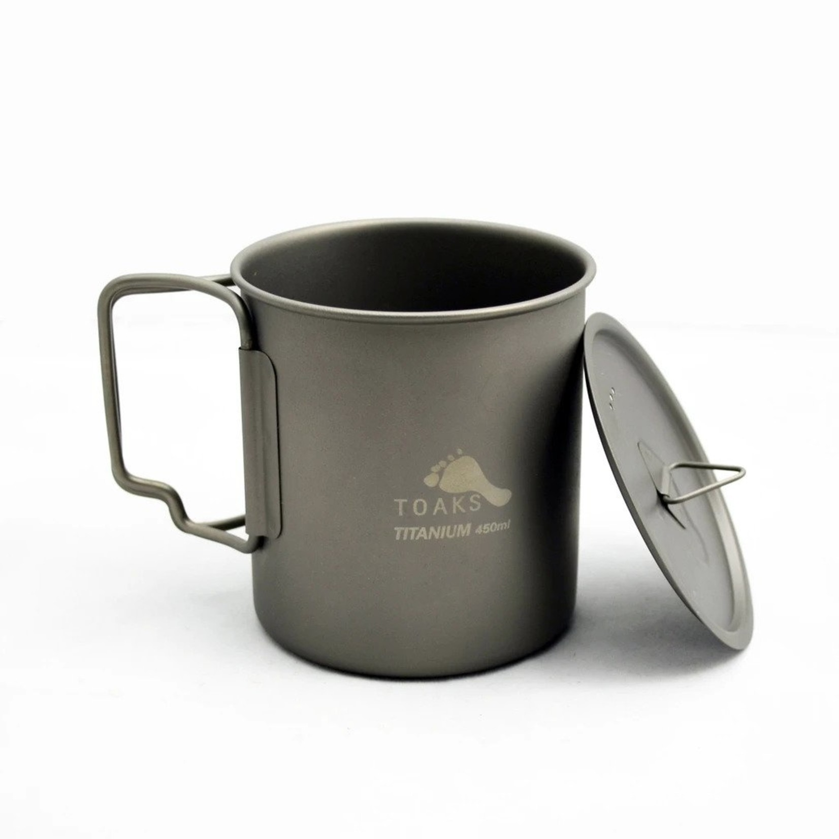 Toaks Toaks, Titanium 450ml Cup with Lid