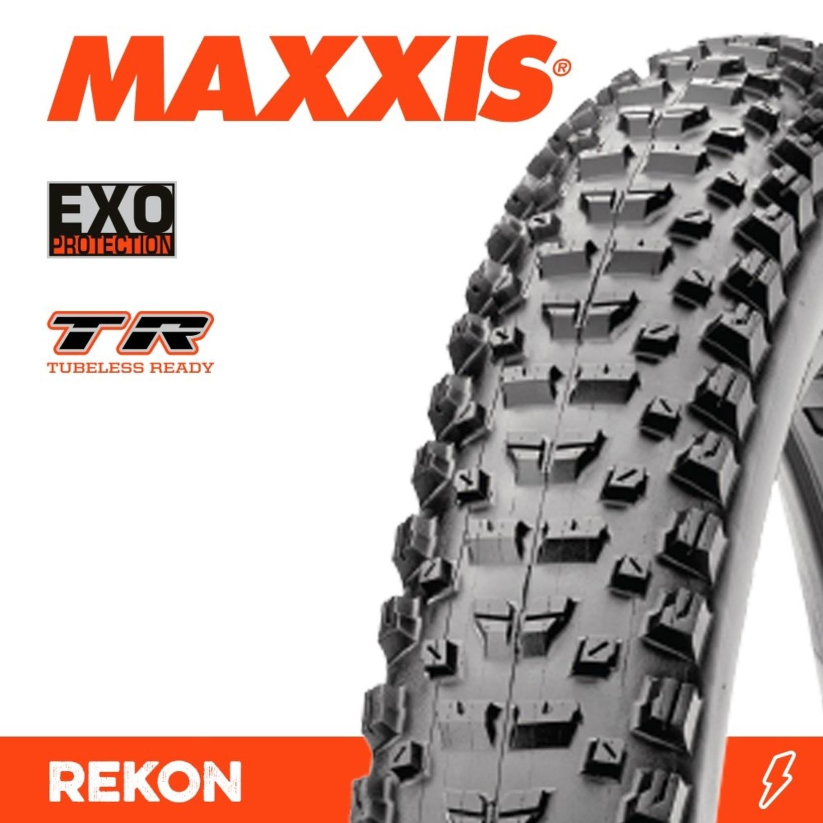Maxxis Maxxis, Tyre Rekon 27.5x2.60 EXO TR 60TPI Black