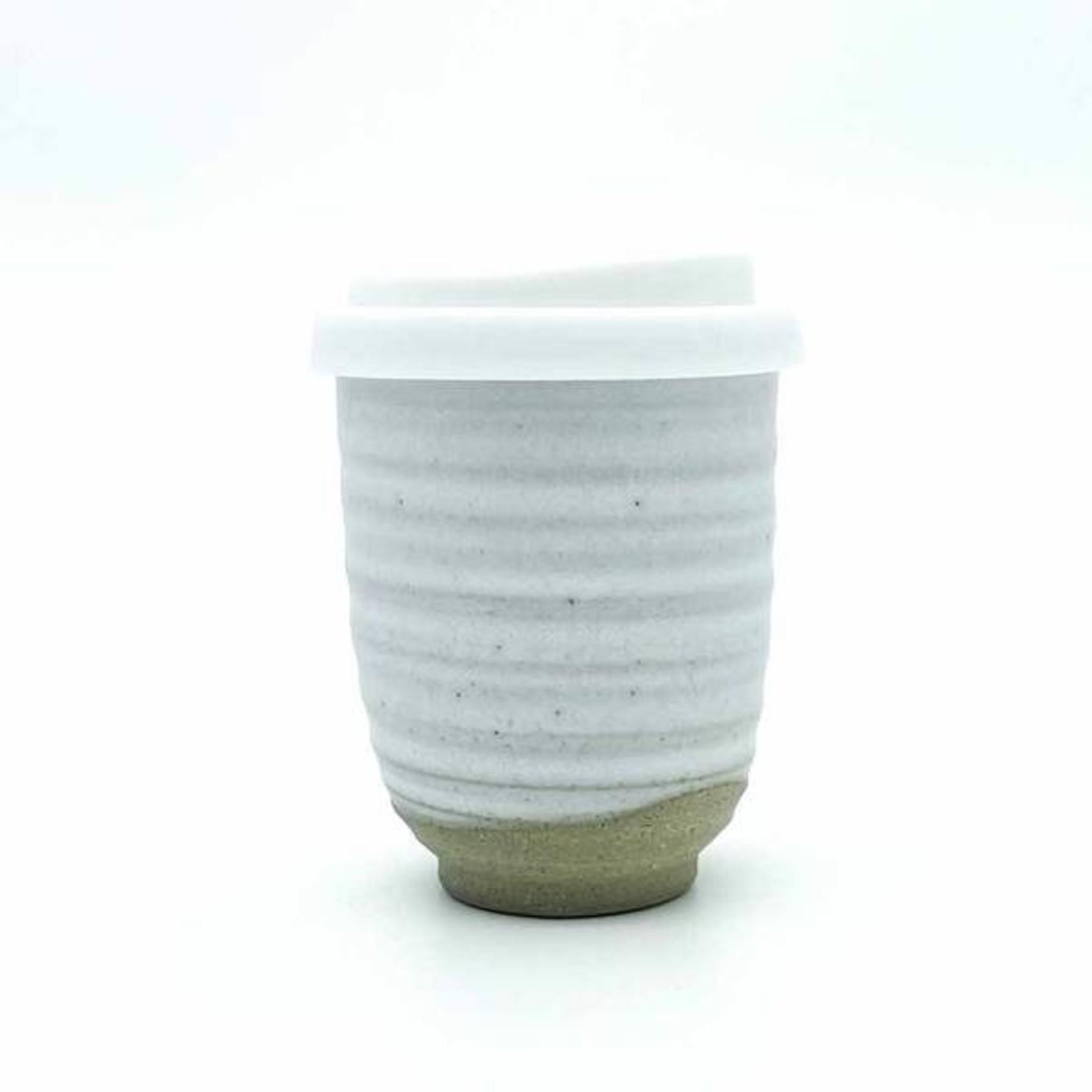 Pottery For The Planet Pottery For The Planet, Ceramic Travel Mug (Assorted Colours)