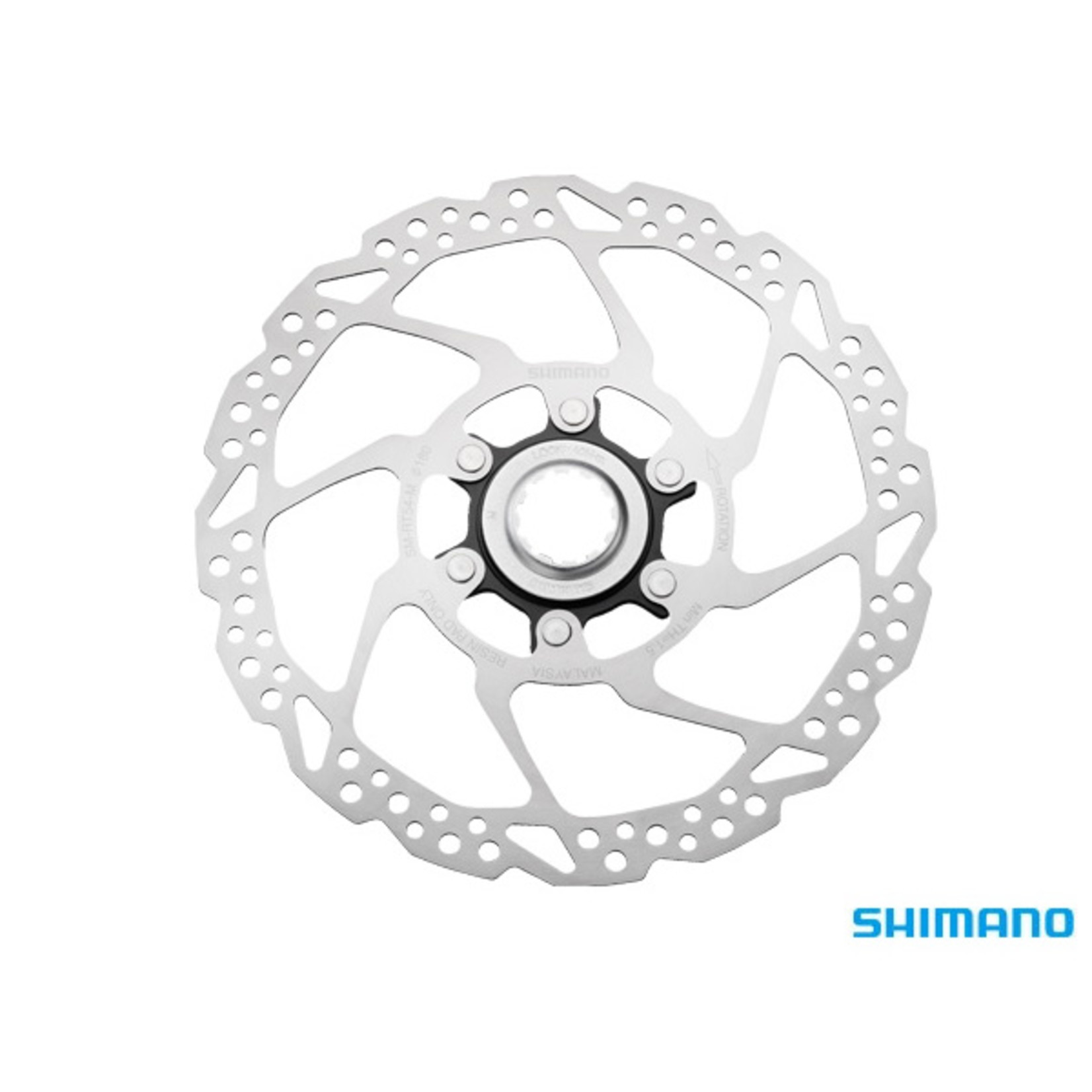 Shimano Shimano, SM-RT54 Disc Rotor 160mm Deore Centrelock for Resin Pads