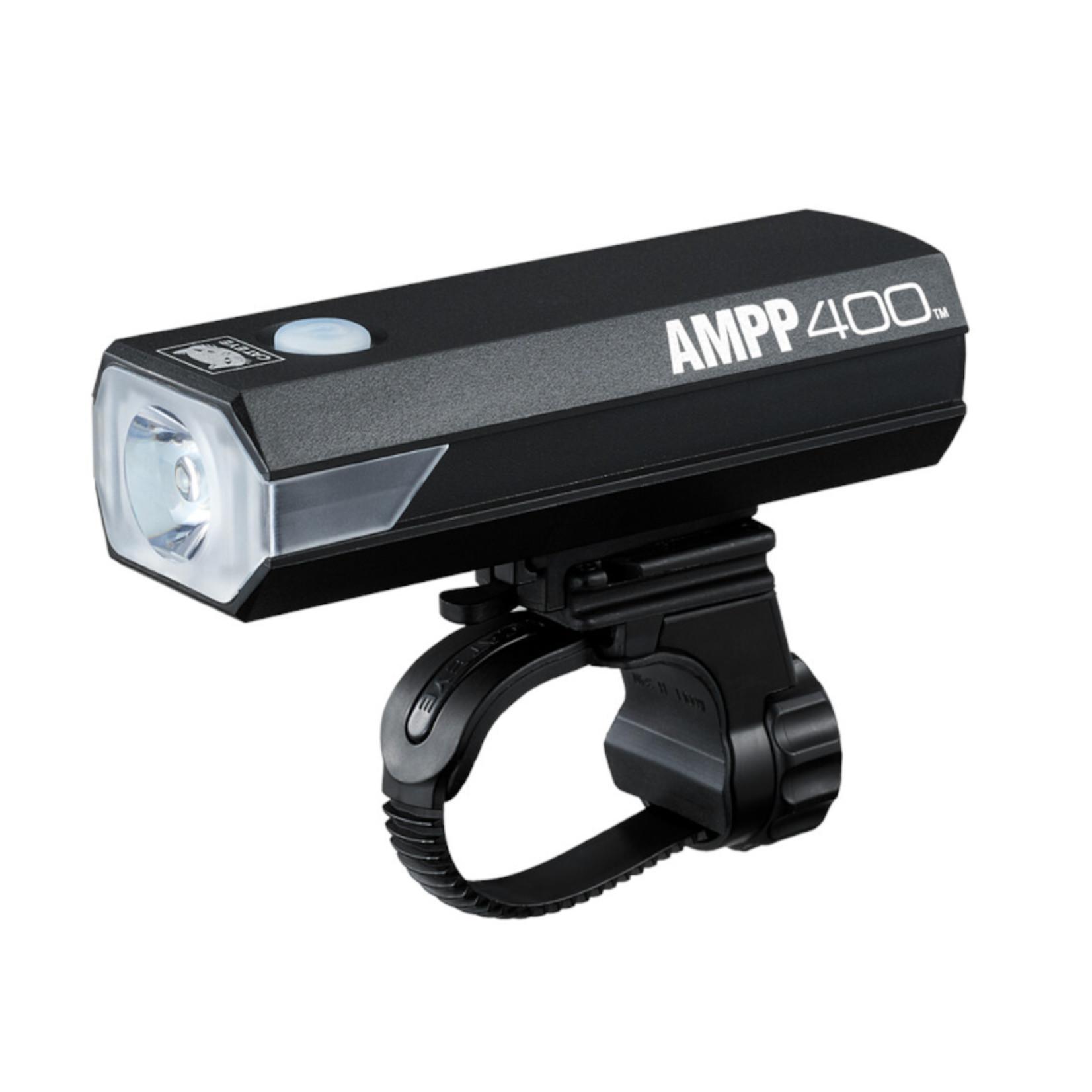 Cateye Cateye, Light Front Ampp 400 Black
