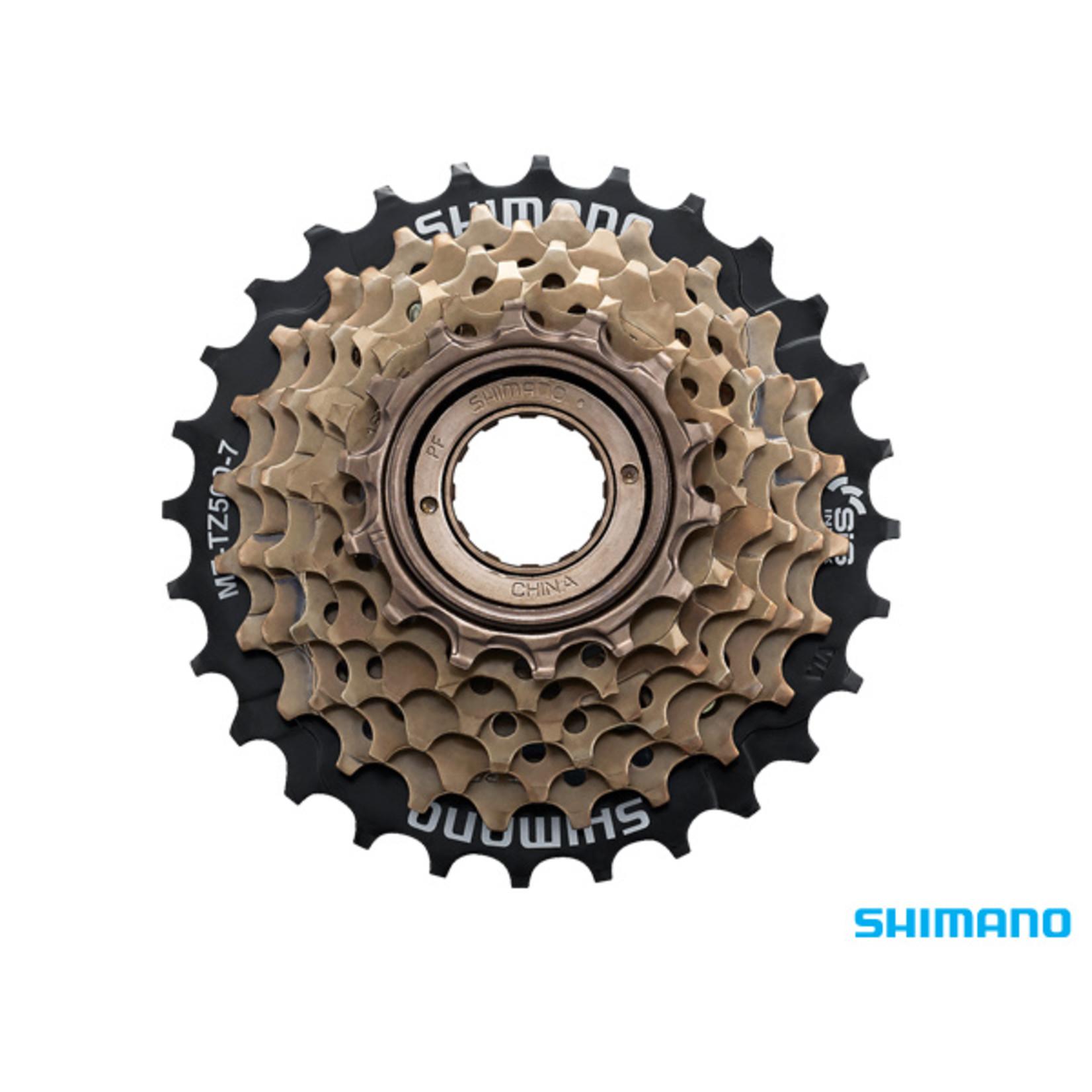 Shimano Shimano, MF-TZ500 Freewheel 7 Speed