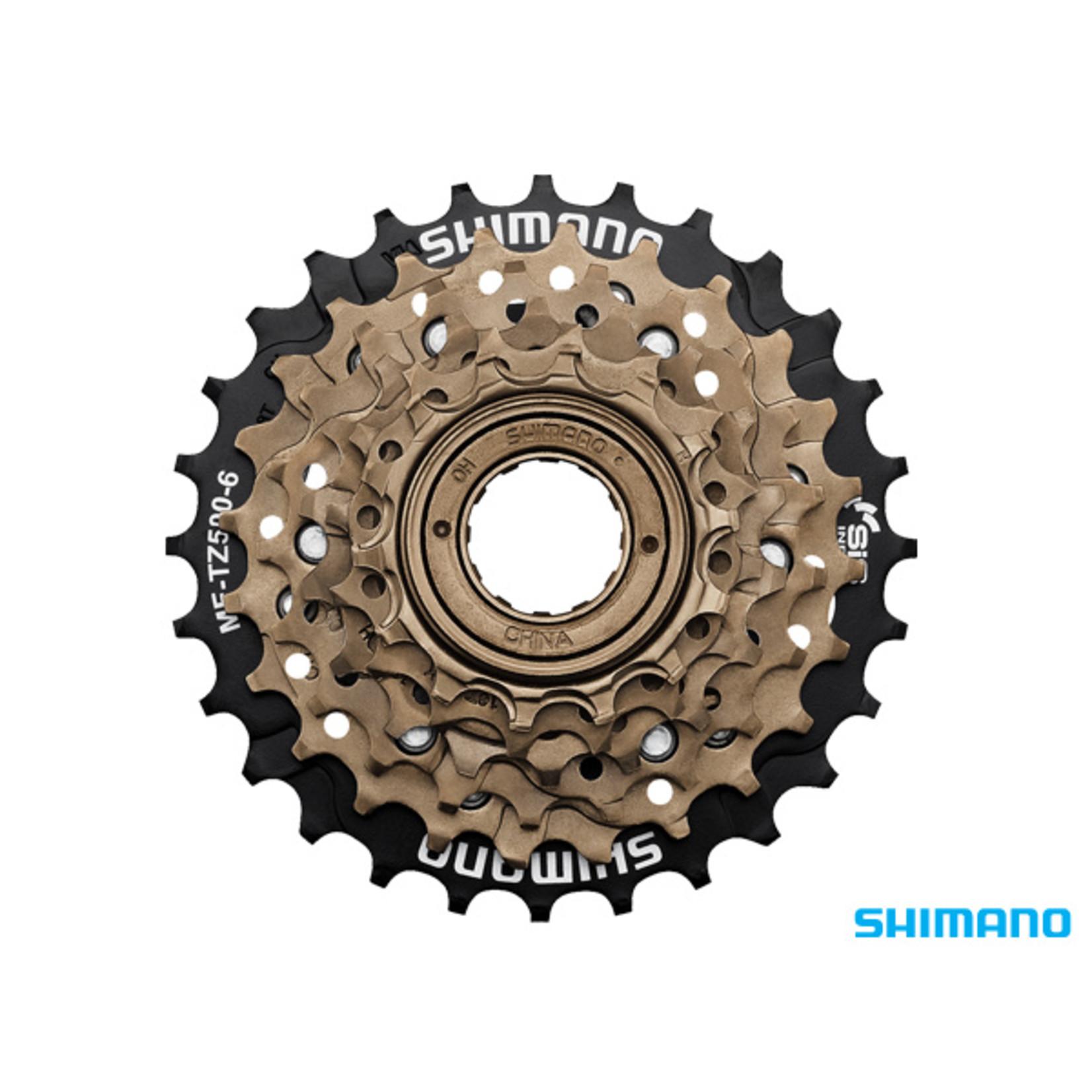 Shimano Shimano, MF-TZ500 Freewheel 6 Speed 14-28