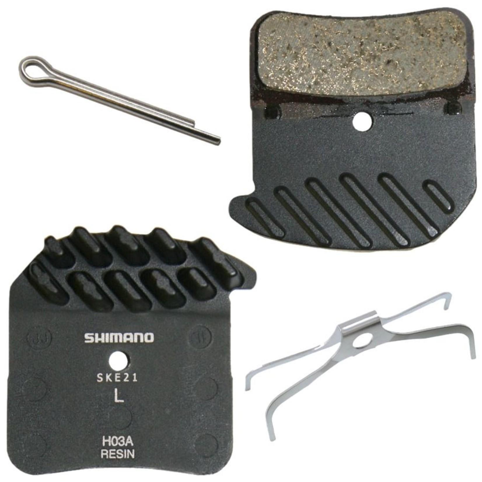 Shimano Shimano, BR-M820/BR-M8020 Resin Pad & Spring H03A w/ Fin