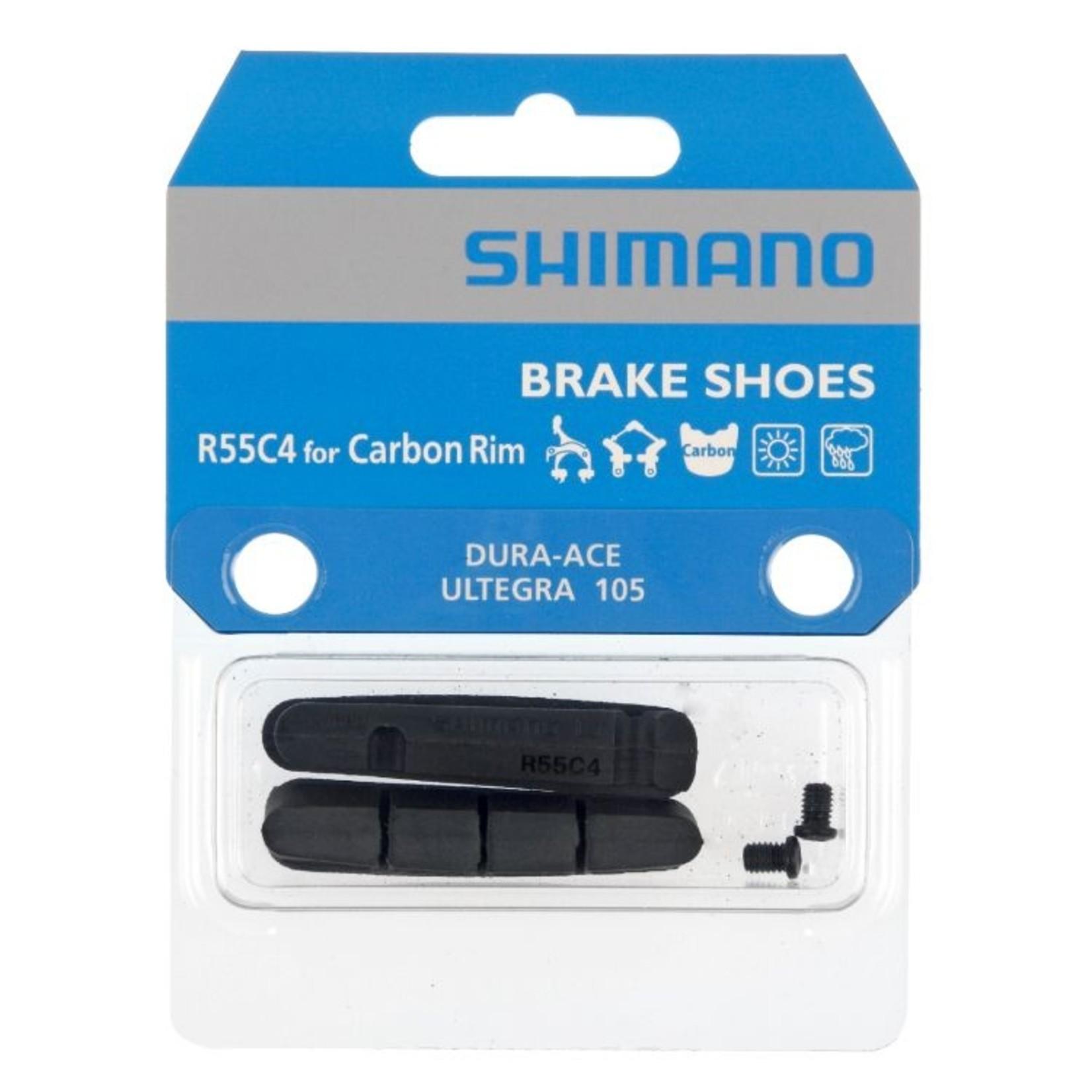 Shimano Shimano, BR-9000 Brake pad Inserts R55C4 For Carbon Rim (1 Pair)