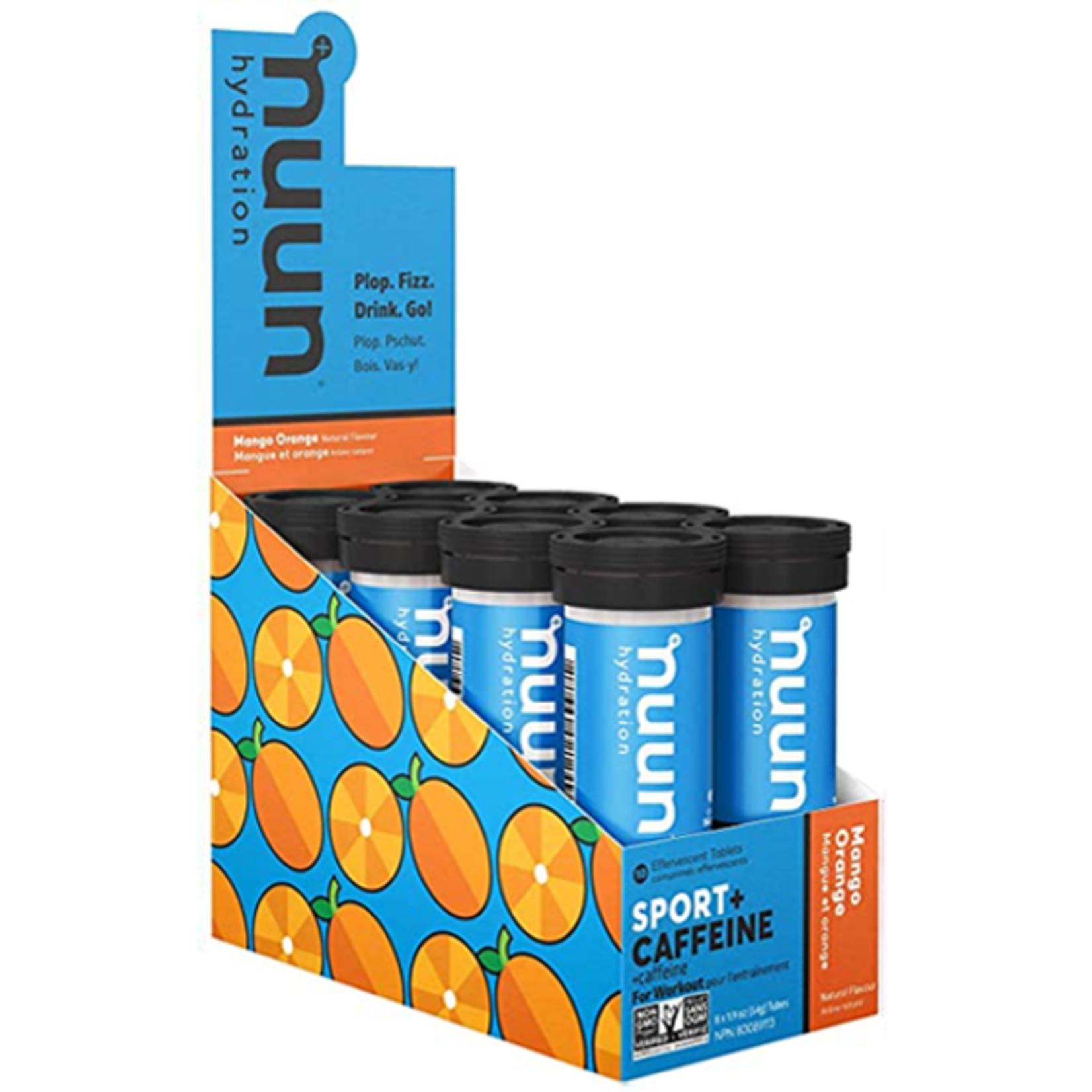 Nuun Hydration Nuun Hydration, Sport Tube Mango/Orange With Caffeine