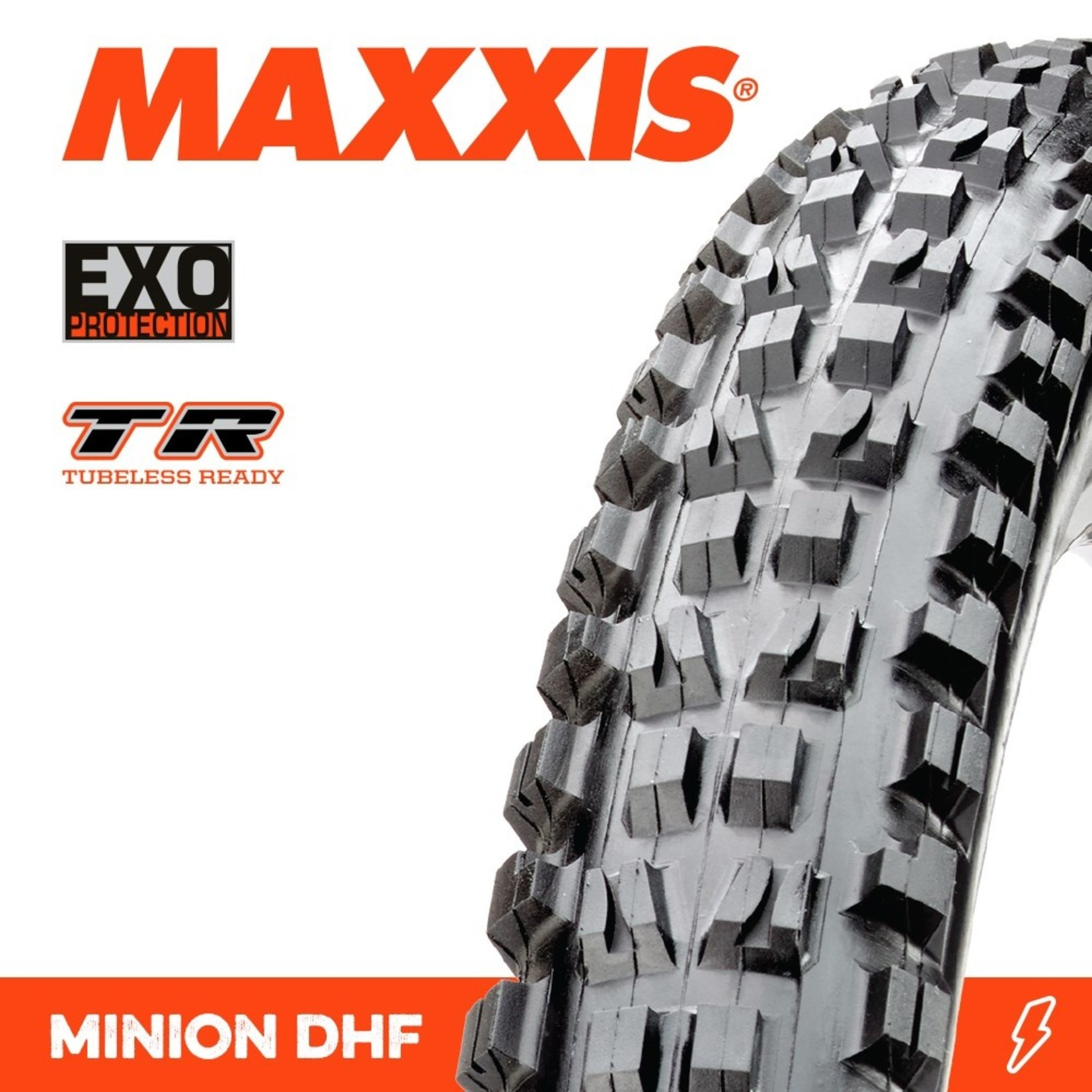 Maxxis Maxxis, Tyre Minion DHF 27.5x2.30 EXO TR 60TPI Black
