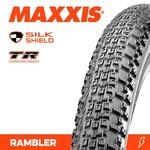 Maxxis Maxxis, Tyre Rambler 700x50c Silkshield TR 60TPI Black