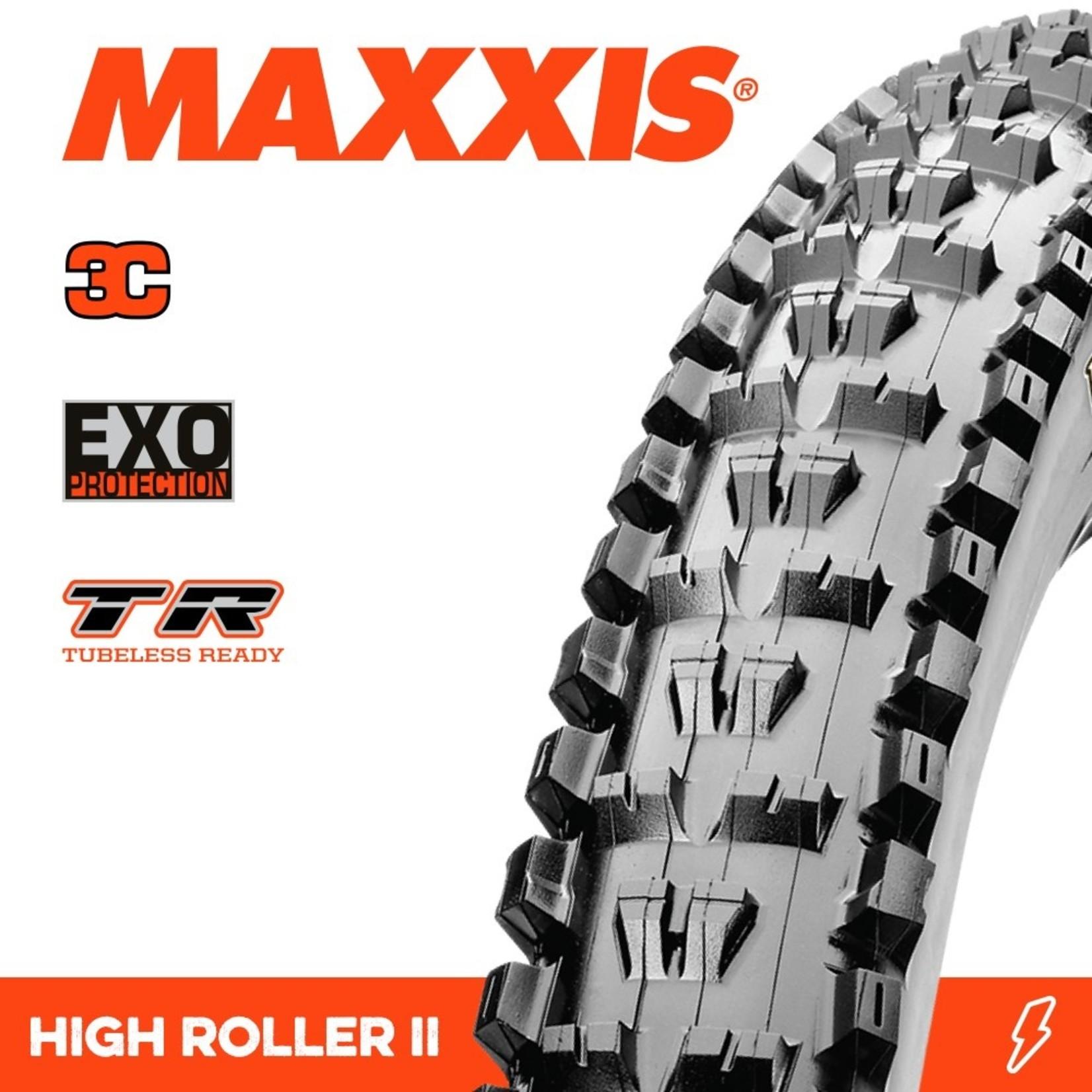 Maxxis Maxxis, Tyre High Roller II 27.5x2.30 3C Terra EXO TR 60TPI Black