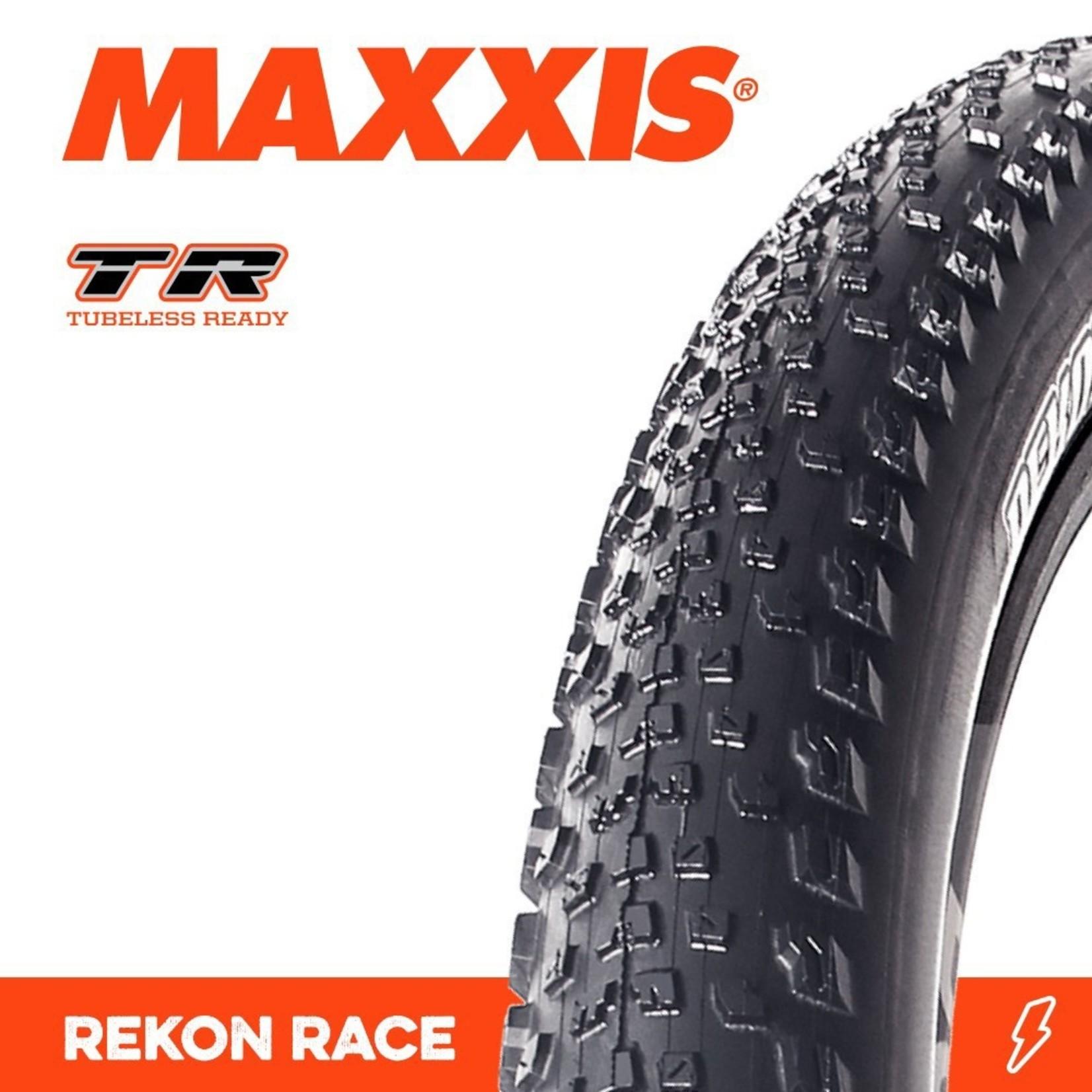 Maxxis Maxxis, Tyre Rekon Race 29x2.25 TR 120TPI Black